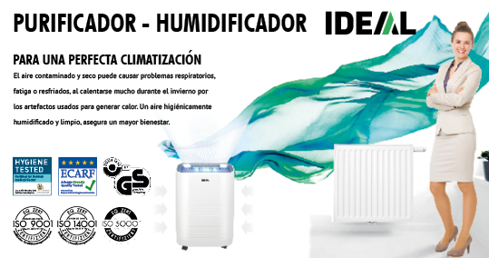 HUMIDIFICADORES IDEAL